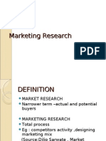 Marketing Research Unit