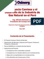 Proyecto Camisea -2004 Alfredo Dammert Peru 26 Maio 10hl