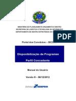 Manual Concedente Disponibilizacao Programas Vs8 06122012