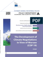 Development of climate negotiations in view of Warsaw - report.pdf