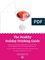 The Healthy Holiday Drinking Guide