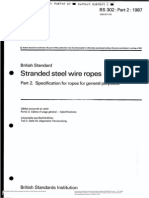 Bs 302-Part2-1987(Steel Wire Ropes-specification for Ropes f