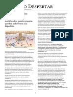 El Codex Alimentarius reconoce que los microorganismos modificados genéticamente pueden sobrevivir a la digestión