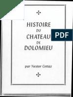 histoire du chateau de dolomieu - nestor cottaz