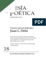 Poesía y Poética, 18 (revista completa)