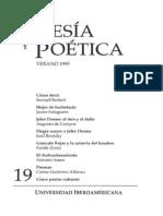 Poesía y Poética, 19 (revista completa)