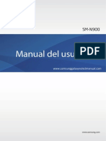 Samsung Galaxy Note 3 User Manual SM-N900, Jellybean, Spanish.Pdf