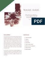Rachel Sokal - Photography Workshops 2011-12