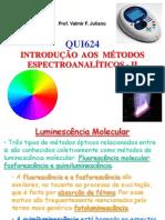 Espectroanalitica - Emissao Molecular