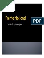 Unidad 6 Frente Nacional - María Isabel Arroyave