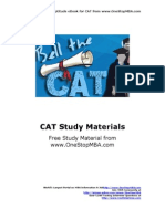 CAT-Quantitative-Reasoning Math