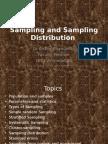 Sampling and Sampling Distribution