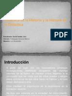 Didáctica de la Historia y la Historia de