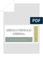 aulas 2 e 3 - Liderança e Comunicação Interpessoal [Modo de Compatibilidade]