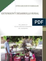 Extension y Desarrollo Rural