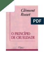 128277425 Clement Rosset O Principio Da Crueldade
