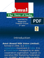 ppt of amul india