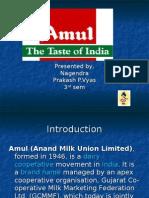 ppt of amul india