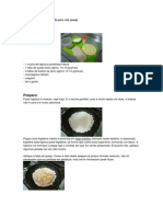 Receita Tapioca de Peito de Peru Com Queijo