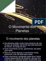 O Movimento Dos Planetas