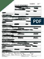 Arlington Police Report