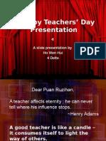 A Happy Teachers' Day Presentation