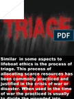 TRIAGE AND LIFEBOAT ETHICS'ppt