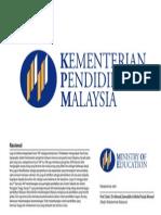 Logo Kementerian Pelajaran Malaysia Nov 2013