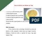 Farofa de Casca de Batata com Gérmen de Trigo