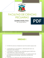 Primera Unidad quimica analìtica