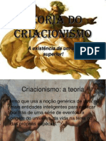 Teoria do Criacionismo.ppt
