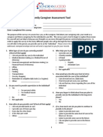 caregiver assessment tool