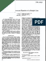 SPE 559 - Material Balance Equation as a Straight Line (I)