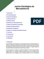 Planeación Estratégica de Mercadotecnia