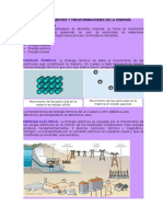 FORMAS Y TRANSFORMACIÓN DE LA ENERGÍA1