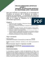 Presentacin Del VII PSIDE Y I Regional de Edu Artstica