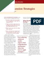 Reading Comprehension Strategies - Moore