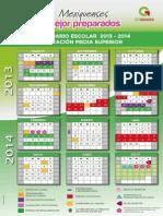 Cartel Calendario 2013 2014