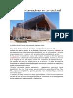 Un Centro de Convenciones No Convencional