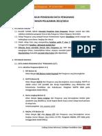 Petunjuk Pengisian Data Pengawas TP 2013-2014
