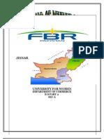Fedral Board Of Revenue