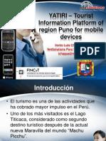 Desarrollo de una plataforma de información turística de la región puno para dispositivos móviles