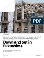 Reuters-Special Report - Help Wanted in Fukushima - Low Pay, High Risks and Gangsters (Fri, 2013.10.25)