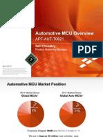 Automotive MCU Overview - 2012 Ap