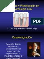 Diagnóstico y Planificación en implantología oral