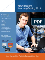 Learning Catalog 2013