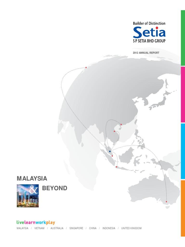 Annual Report 2012 | Board Of Directors | Malaysia