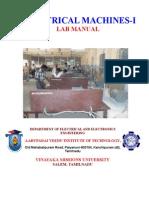 EM-I Lab Manual 28.10.08 Latest