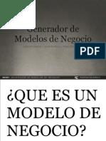 Business Canvas Model Generation Espanol