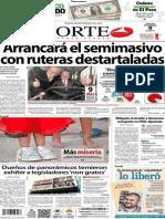 Periodico Norte de Ciudad Juarez 9 de Noviembre de 2013